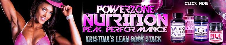Kristina Angeli Powerzone Nutrition Lean Body Stack