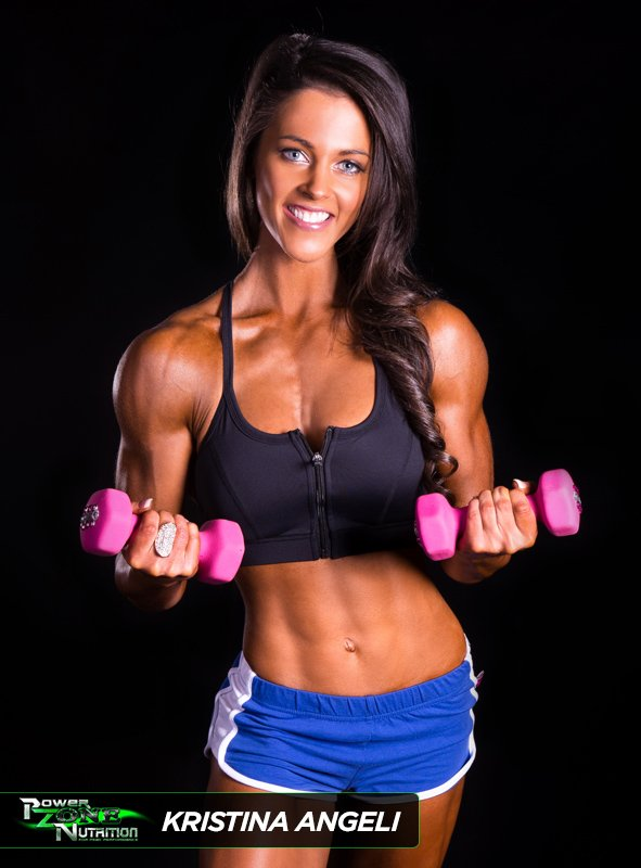 Kristina Angeli Team Powerzone Fitness Figure Champion