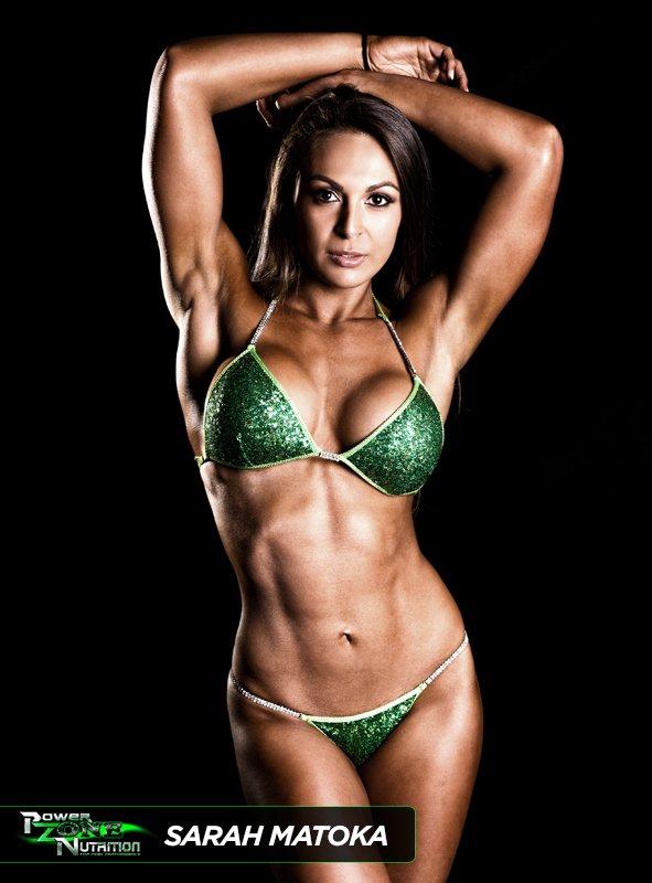 Sarah Matoka Team Powerzone Ms Bikini Australia Bikini Pro