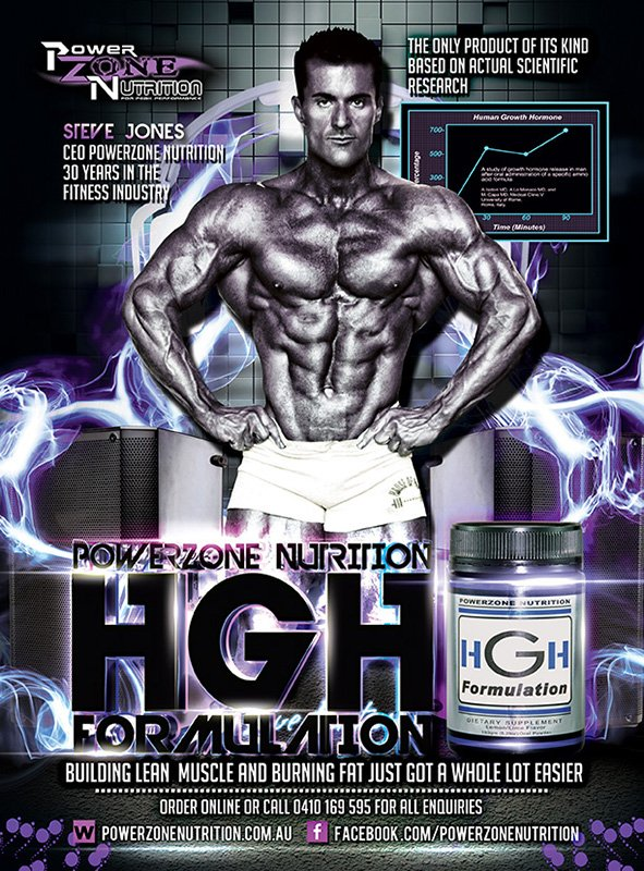 Steve Jones CEO Founder Powerzone Nutrition