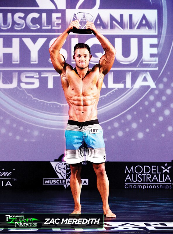 Zac Meredith Team Powerzone Musclemania Physique Champion