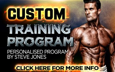 Custom Weight Training Program Steve Jones
