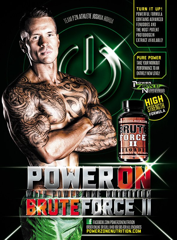 Joshua Hohua Team Powerzone Nutrition Fitness Model Champion