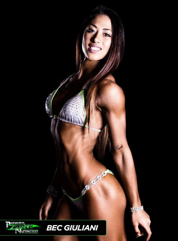 Bec Giuliani Team Powerzone Athlete Fitness Model Champion