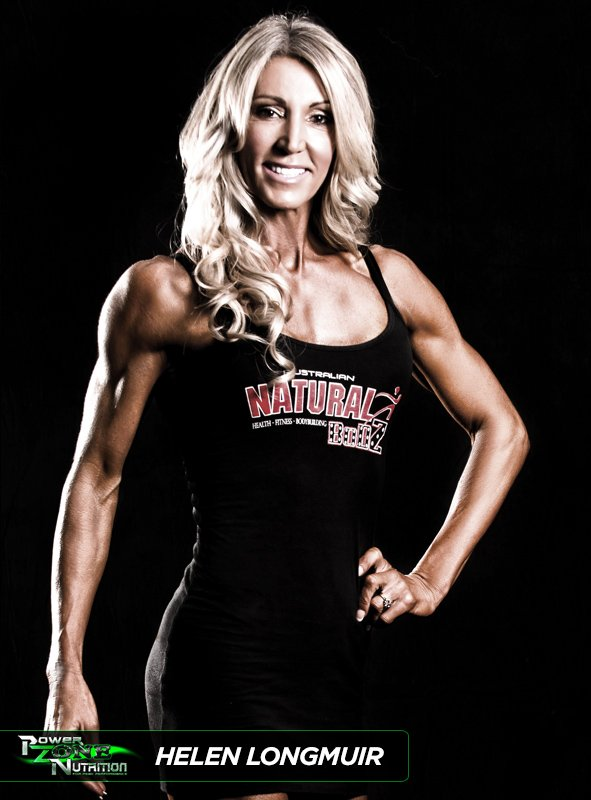 Helen Longmuir Figure and Bikini Champion Team Powerzone Nutrition