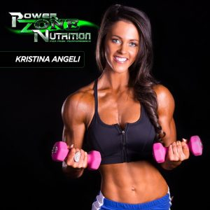 Kristina Angeli Team Powerzone Nutrition
