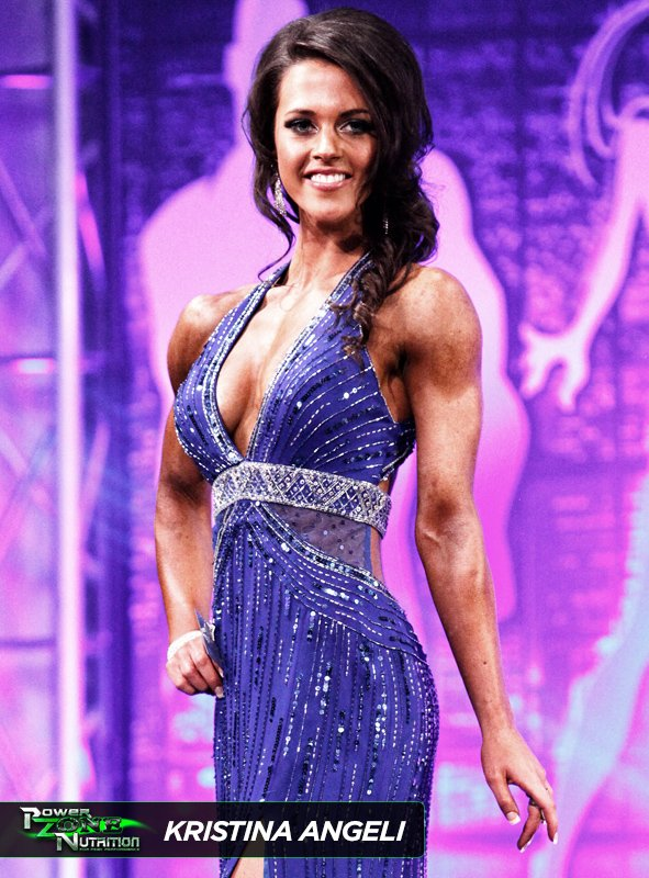 Kristina Angeli Team Powerzone Fitness Figure Champion