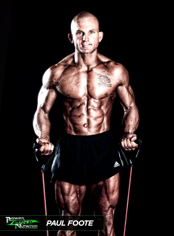 Paul Foote Team Powerzone Athlete Natural Bodybuilding Champion