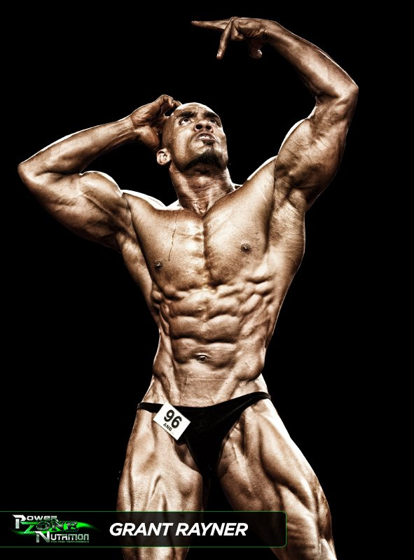 Grant Rayner Team Powerzone Athlete Natural Bodybuilder