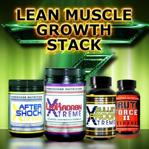 Powerzone Nutrition- Lean Muscle Growth Stack
