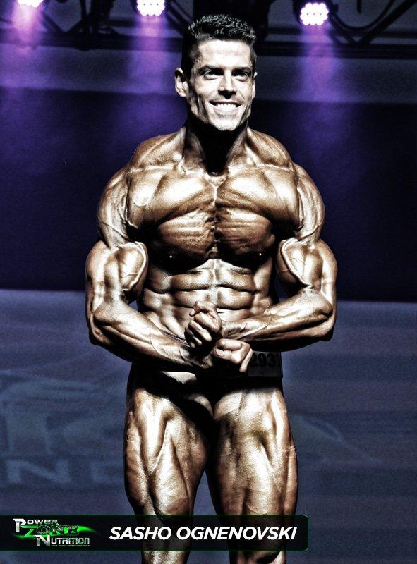 Sasho Ognenovski Team Powerzone Musclemania Pro