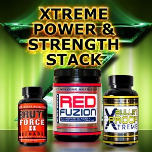 Xtreme Power and Strength Stack Powerzone Nutrition