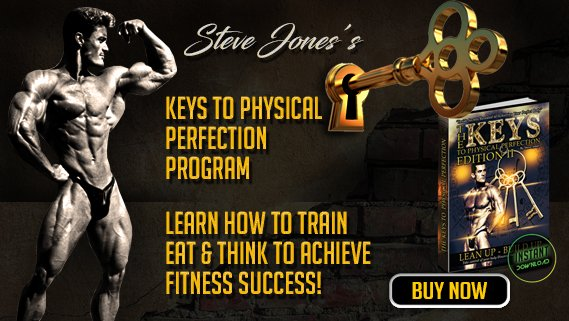 Steve Jones Bodybuilding Program