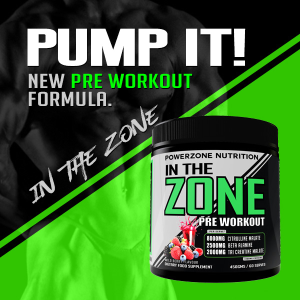 Powerzone Pre Workout Formula