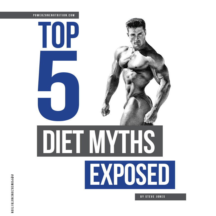 Top 5 diet myths exposed