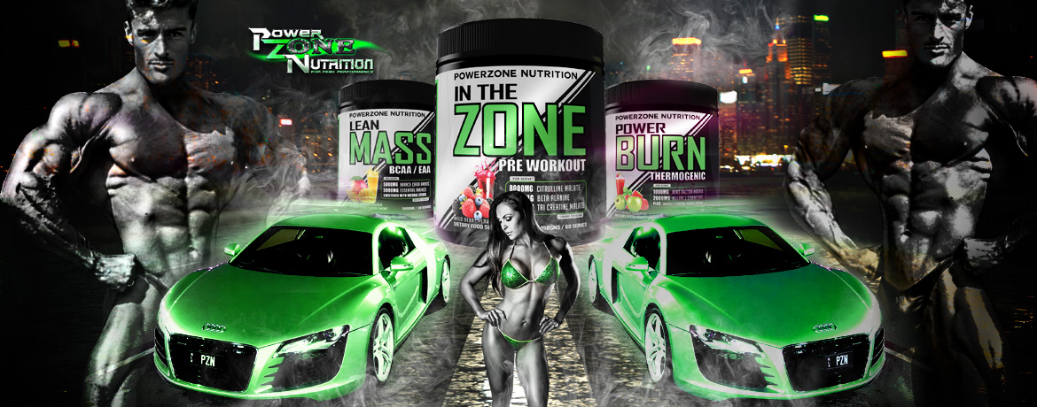 Steve Jones Powerzone Nutrition Bodybuilder