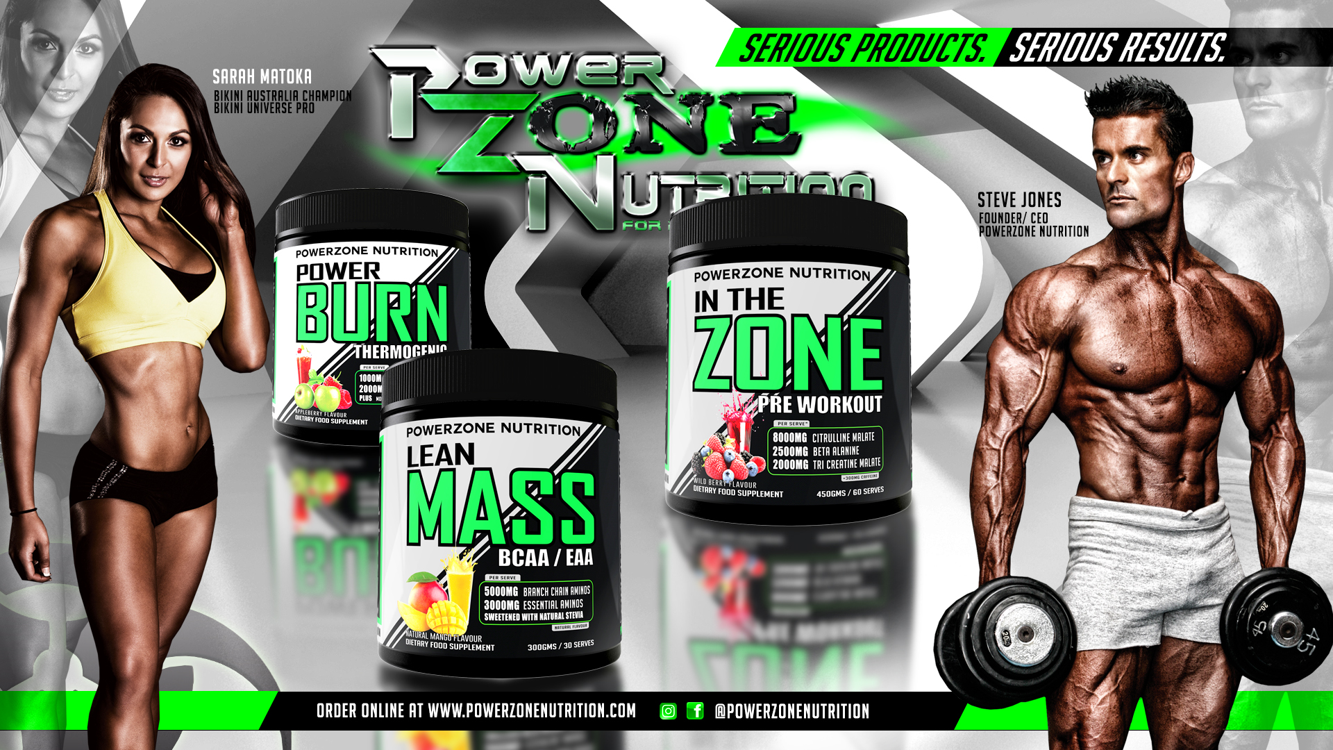 Powerzone Nutrition Australian Sport Supplements