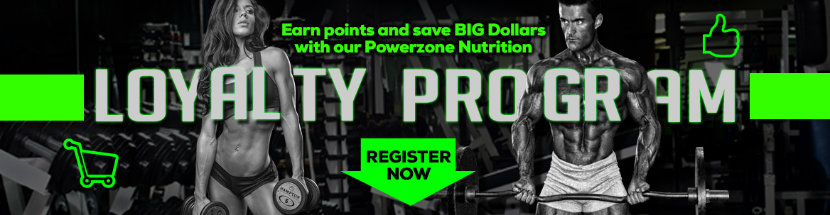 Powerzone Nutrition Loyalty Program