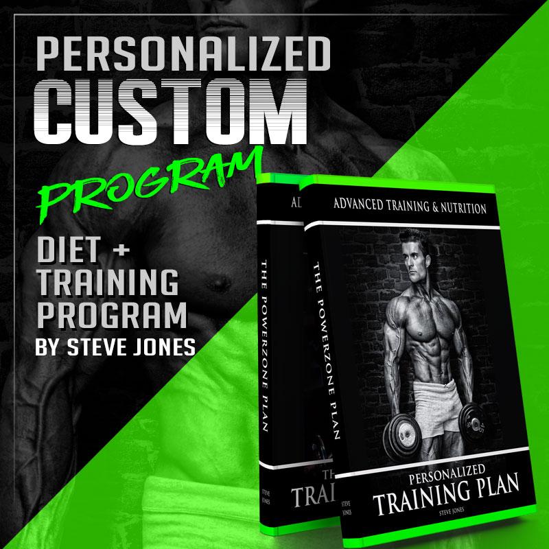 Steve Jones Training Diet Plan